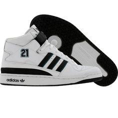 Adidas Forum Mid BB - Kevin Garnett (r white / black / reef) 549340 - $199.99