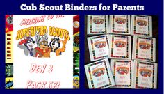 Not Just a Mom With Boys: Cub Scout Forms Free Printables