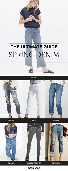 All the denim you need to make it through Spring in style.