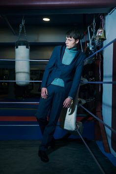 'Evolution' menswear tailoring AW 2016/17