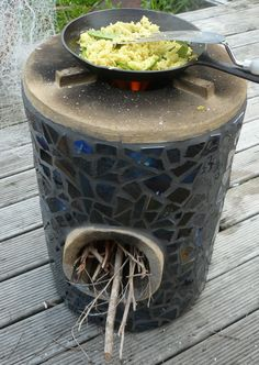 Rocket Stoves; Amazing Invention that can be made entirely out of dirt, that has won international awards. Great for cooking and heating.