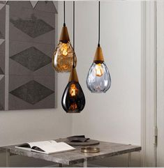 Item Type: Pendant Lights Certification: CE,RoHS,CCC Brand Name: BVLAMSSI Power Source: AC Body Material: Glass,Iron,Wood Installation Type: Cord Pendant Base Type: E27 Place: Study,Parlor,Hotel Hall,Hotel Room,Master Bedroom,other bedrooms Lighting Area: 10-15square meters Is Bulbs Included: Yes Lampshade Color: White,Brown Warranty: 2 year Material: Glass Stone Style: Modern Voltage: 90-260V Application: Foyer Is Dimmable: No Light Source: Incandescent Bulbs Technics: Hot Bending Model…