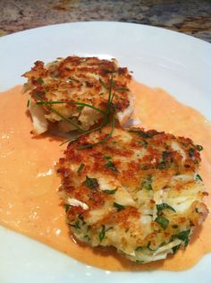 Crab Cakes, one of my fav food! There are levels to this shhhh... Lol