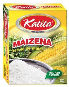 Diseño empaque caja marca KATITA para Maizena