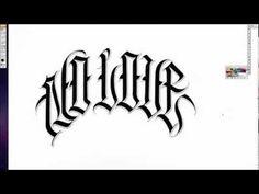 OG ABEL - No Love Calligraphy video