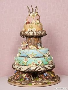 Cakes, Cakes, Cakes wedding-ideas find-on-pinterest lovable-food