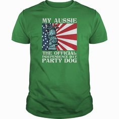 My #Aussie The Official Independence Day,  Order HERE ==> https://www.sunfrogshirts.com/LifeStyle/131943641-892754182.html?58094,  Please tag & share with your friends who would love it,  #aussie doodle, australian shepherd miniature, australian shepherd mix  #dogsofinstagram #popular #everything