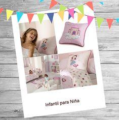 Ideas para decorar una habitación de niña.  Descubre nuestro Catálogo de Decoración infantil https://kusbe.com/es/catalogo/decoracion-infantil_fundas-nordicas-infantiles/