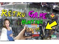 RETRO GAME HUNTING   SNES Games & Retro Game Treasures   TheGebs24