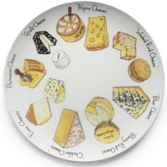 Gourmet Cheese Platter: baked on a white dish with sharpie marker BAKE 350 degrees 30 minutes, let cool in the oven. Ceramic Plates, Porcelain Ceramics, Ceramic Pottery, Painted Porcelain, China Porcelain, Pottery Painting, Ceramic Painting, Painting On Wood, Gourmet Cheese