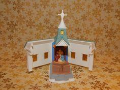 Hallmark Ornament 1996 Come All Ye Faithful Church Opens 1027 | eBay