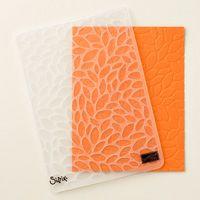 Petal Burst Textured Impressions Embossing Folder #141493, $7.50. Pg.195 AC 6/1/2016 - ______