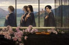 Edward Okuń (1872 - 1945)   Four Strings of the Violin, 1914    🖼❤@AHistoryofPaint❤    #AHistoryofPaint #HistoryofPainting