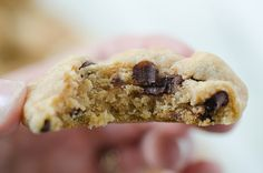Perfectly Puffy Butterscotch Chocolate Chip Cookies by Pennies on a Platter