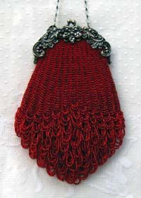 Another beautiful pattern from Victorian Purses by Sue. Have the perfect outfit for this.