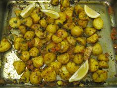 The wonderfully spicy Bombay Roasties with garlic and chili made by pupils at Lubenham All Saints CE Primary.