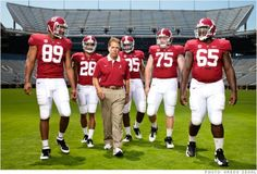 Leadership lessons from Alabama football coach Nick Saban - Sep. 7, 2012    Had to read this after what they did to my Michigan Wolverines!