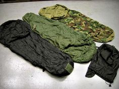 Modular Sleep Systems with Intermediate Cold Weather Sleeping Bags, Patrol Sleeping Bags, and a Compress Stuff Sack. These Military Surplus Sleeping Bags will be perfect for your family camping trip!