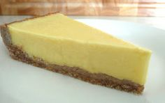 Lemon Tart w. Chestnut Recie - Paleo Dessert Recipe