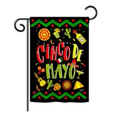 Angeleno Heritage - Ready to Cinco de Mayo Country & Primitive - Everyday Southwest Impressions Decorative Vertical Garden Flag x Printed In USA House Flags, Flag Decor, Old Doors, Large Homes, Country Primitive, Garden Flags, Prints, Usa, Design