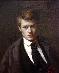 Self portrait --Émile Friant