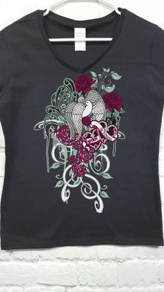 Always and Forever doves romantic ladies tee women's by SpiffyRags