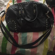 Laura Ashley purse It's black, great size, great condition only used a few times Laura Ashley  Bags Crossbody Bags