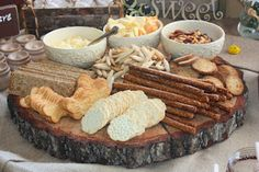 This isn't the food I want or anything but I liked the display and the colors. I want light and pretty appearance and I love the wood tray because I want it to be really outdoorsy since The Hundred Acre Wood was after all out doors and very very beautiful