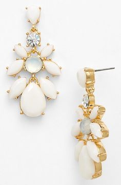Anne Klein Chandelier Earrings available at #Nordstrom