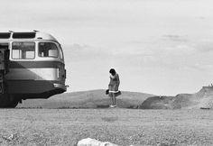 Байкал. Река Селенга. 1980.  Фотограф Игорь Пальмин