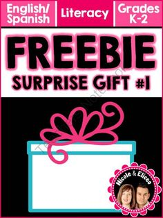 FREE SURPRISE #1 FOR FOLLOWERS - Interactive Notebook - (English & Spanish) from NicoleAndEliceo on TeachersNotebook.com -  (8 pages)  - FREE SURPRISE #1 FOR FOLLOWERS - Interactive Notebook - (English & Spanish)