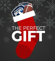 The perfect stocking stuffer? Tickets to the 2016 International Bowl! Football Moms, Football Players, Christmas Stockings, Coaching, Holiday Decor, Needlepoint Christmas Stockings, Training, Soccer Players, Football Mums