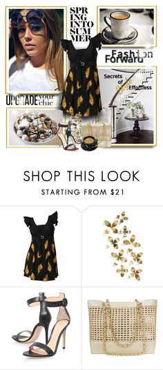 """""""WANTDO.com fashion13"""" by sneky ❤ liked on Polyvore featuring Umbra, Gianvito Rossi and Chanel"""