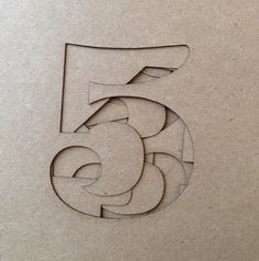 Source: joana-patrasc, via artpropelled Cool Typography, Typography Letters, Graphic Design Typography, Paper Design, Design Art, Print Design, Logo Design, Art Mots, Crea Design