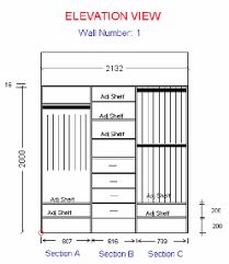 Image Result For How To Do Measurements A Carc Bedroom Built In Cupboards Walk Wardrobe Designwalk