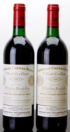Château Cheval Blanc 1990 Bordeaux Saint-Emilion G. Rare Wine, Fine Wine And Spirits, Wine Bucket, Tea Cocktails, Wine Photography, Wine Collection, French Wine, Vintage Wine, In Vino Veritas
