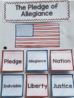 Every day our kiddos stand up to say the pledge of allegiance, but do they really know what they are saying? This interactive notebook activity is the perfect way to break the monotony, and to help our students understand what they are really saying during the pledge!