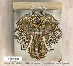 """My inspiration on this design is elephant.As a symbol, the elephant represents royalty, power, wisdom, fertility, longevity and more. In Hiduism the most widely worshiped Hindu god deity is Lord Ganesha: The Elephant God.He represents """"perfect wisdom"""",""""remover of obstacles"""" and a """"bestower of prosperity"""". When associated with the Buddha, the meaning of an elephantconveys compassion, truth, peace, love and kindness.It is often considered sacred and symbolis..."""
