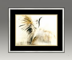 Black Crane. Gold Series (Option 2)