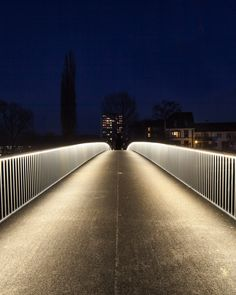 pedestrian bridge in Basel, Switzerland
