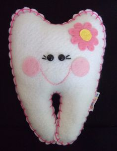 Tooth+Fairy+Pillow++Girl++Personalized+by+RainbowCuties+on+Etsy
