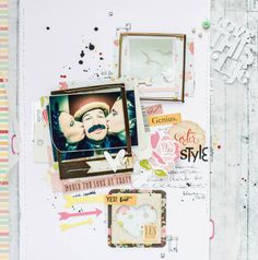 She knows how to celebrate! by all-that-scrapbooking at @Studio_Calico