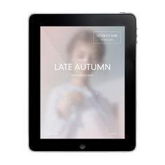 Late Autumn for iPad by Timothy Moore, via Behance