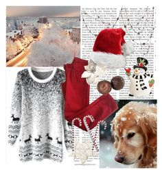 """Christmas is coming closer"" by cassy-style ❤ liked on Polyvore featuring Fitz and Floyd and Comptoir Des Cotonniers"