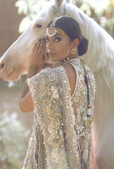 Ready, Set, Shoot: Elan by Khadijah Shah 'Jasmine Court' Bridal Couture | Secret Closet