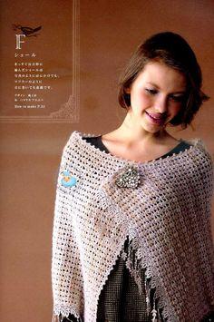 crochet & lace shawl