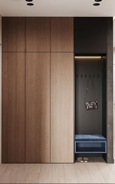 Door Design Interior, Foyer Design, Home Room Design, Deco Design, House Design, Wardrobe Door Designs, Wardrobe Design Bedroom, Master Bedroom Interior, Hallway Furniture