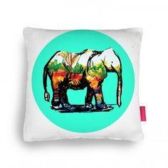 The Elephant Child Cushion