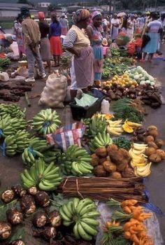 Market day in Dominica