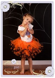 2-Piece Tricks Halloween Tutu Set